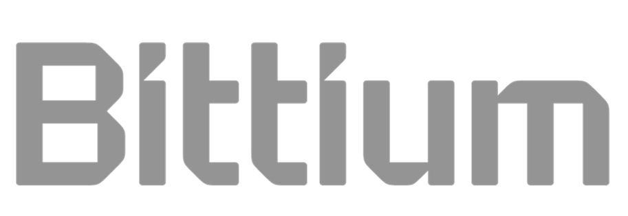 Bittium logo grey