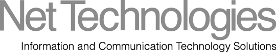Net Technologies logo grey
