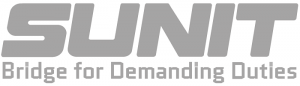 Sunit - Bridge for Demanding Duties - grey logo